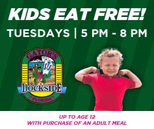 Gators Dockside Kids Eat Free