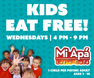 Mi Apa Kids Eat Free