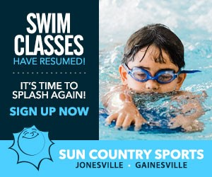 Sun Country Sports Swimming Resumed