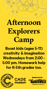 Cade Museum Afternoon Explorers Camp