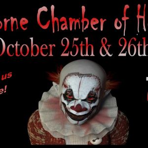 10/25-10/26 Hawthorne Chamber of Horrors Haunted House