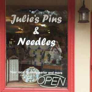 Julie's Pins and Needles