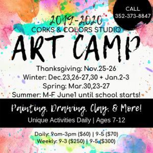 Corks and Colors - Spring Break Camp